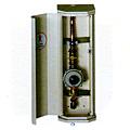 Caixa Vertical Comp. com Saída
